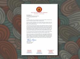 New Document- Letter to Jill Gallagher Regarding Treaty Process – Sept 2018