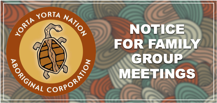 Notice for Family Group Meetings